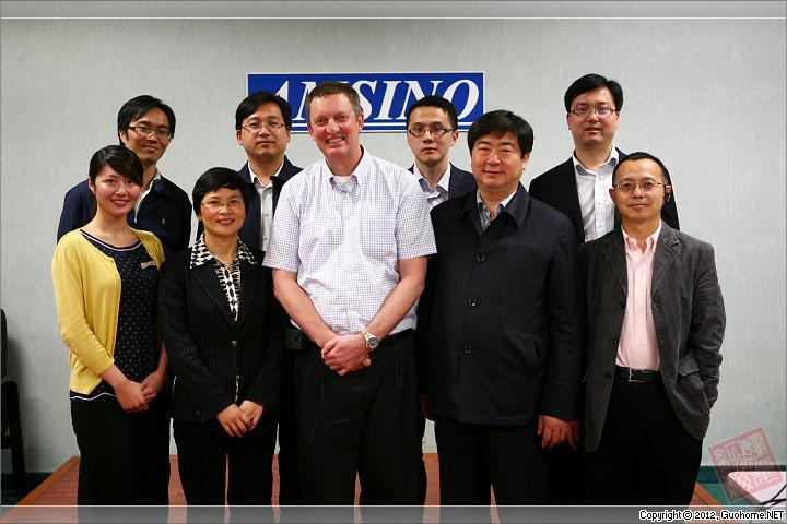美国华裔教授专家网接待镇江市科技代表团访问洛杉矶