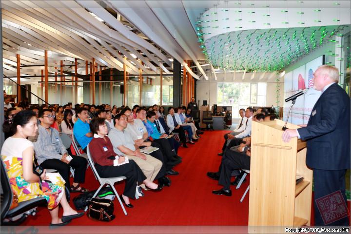 南加华裔教授专家团体隆重迎送中国驻洛杉矶总领馆教育参赞