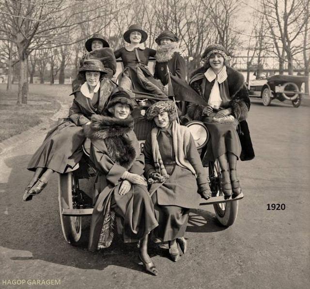 怀旧照片-大约100年前的美国