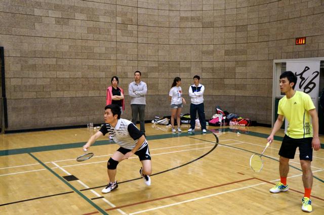 美西南学联羽毛球大赛圆满收拍