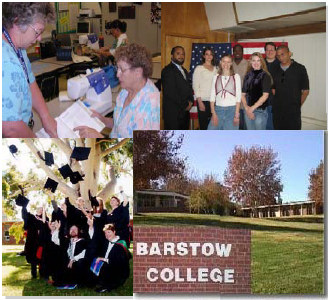 Barstow College Current Vacancy Announcements