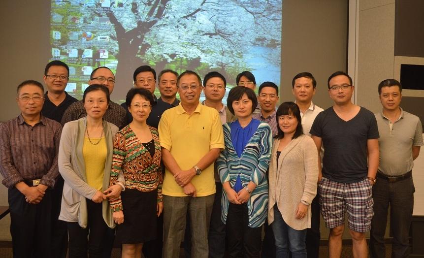 无锡市卫生与食药监管代表团来洛杉矶访问调研 姜镇英教授等参加研讨
