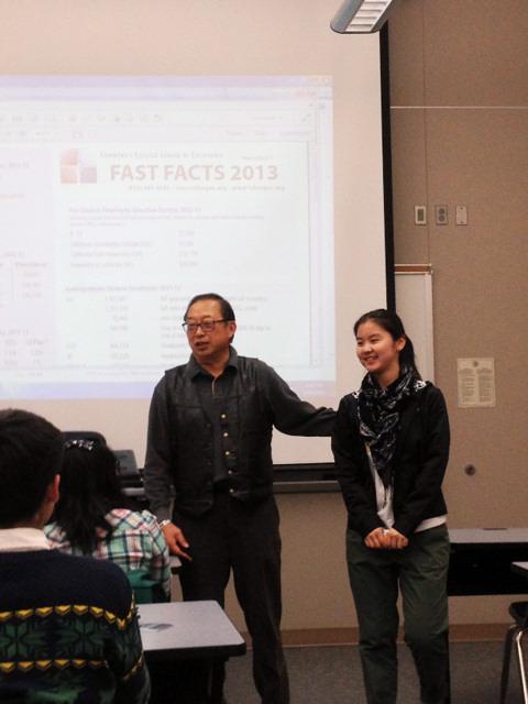 美国华裔教授专家网和巴斯度学院接待北京理工大学代表团
