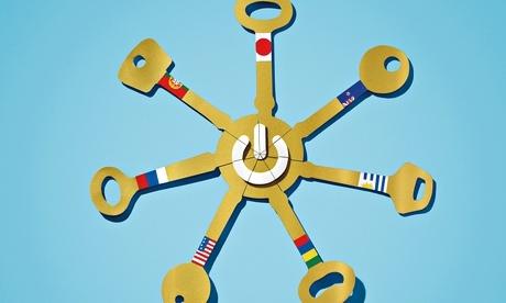 守护互联网的7把真实钥匙:集齐后生成访问密码