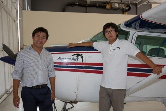 梦想从今天起飞 - 贾嘉、贾鸣、李丽三位留学生在美成功创办航空飞行学校