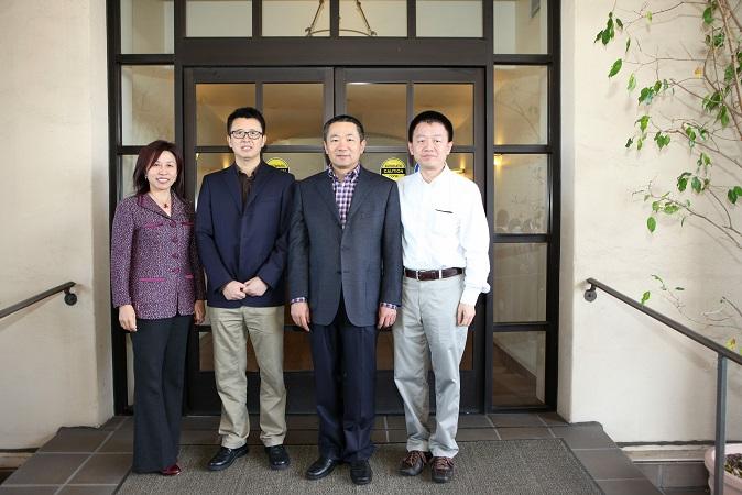 南加州科技界热烈迎送中国驻洛杉矶总领馆科技参赞吕先志、张健
