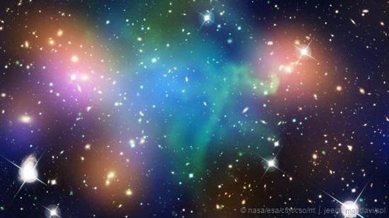 宇宙究竟是由什么物质组成的?