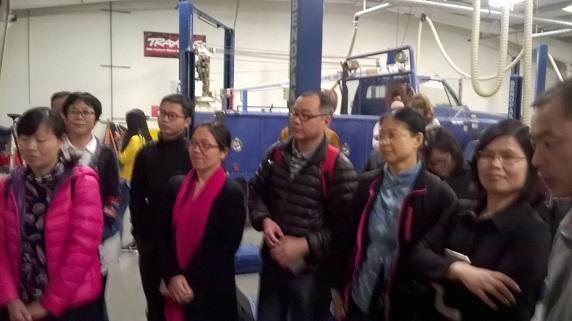 浙江职业技术教育代表团访问Barstow调研美国CTE动态