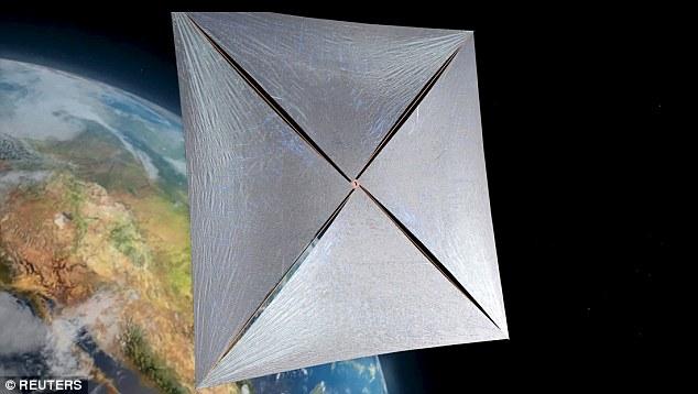 NASA联手霍金发射纳米飞船探索太空