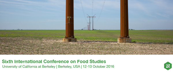 The 6th International Conference on Food Studies(UC-Berkeley 10/12)