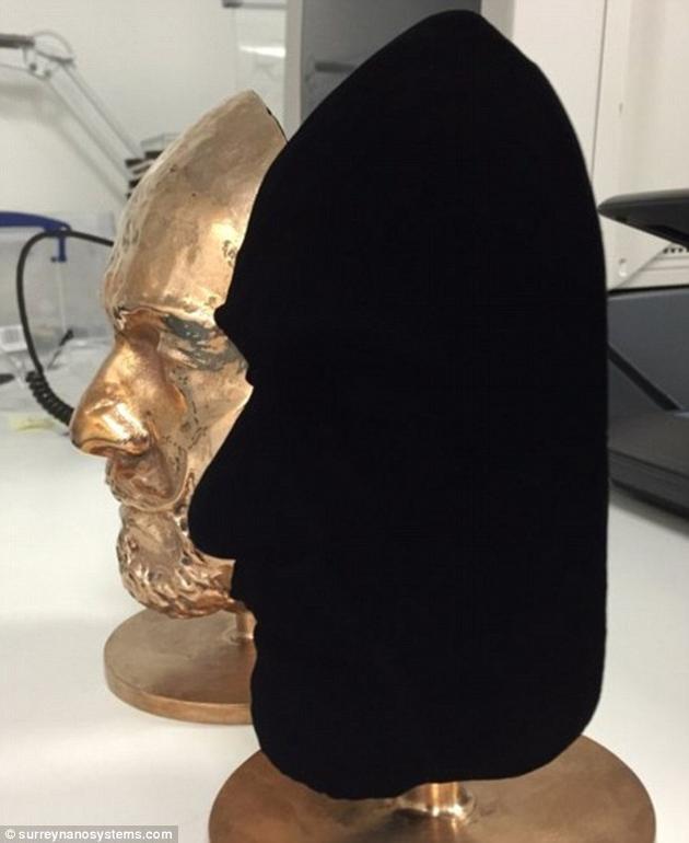 科学家研发世界最黑材料:可吸收99.8%的光线