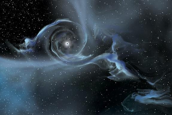 黑洞能带我们前往另一个世界吗?
