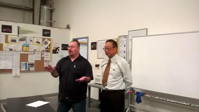 江苏省教育科学研究代表团访问BARSTOW 考察美国在线教育技术