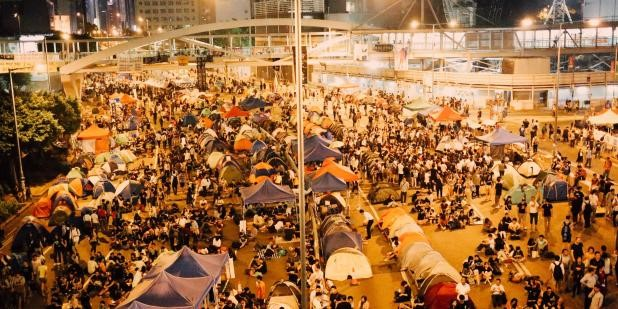 """USC:A Movement Of Varying Faces:How """"Occupy Central"""" Was Framed In The News"""