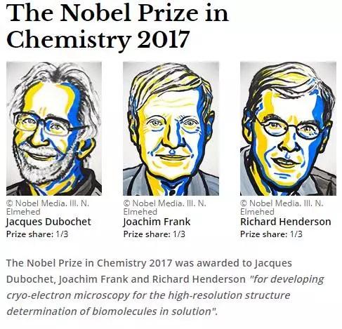 冷冻电镜:发给物理学家的2017诺贝尔化学奖 帮助了生物学家
