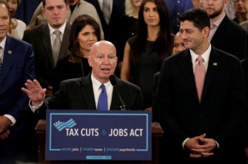 美国众院税改议案:个税降为五档 企业税一次性降至20% - 华人房奴慌了