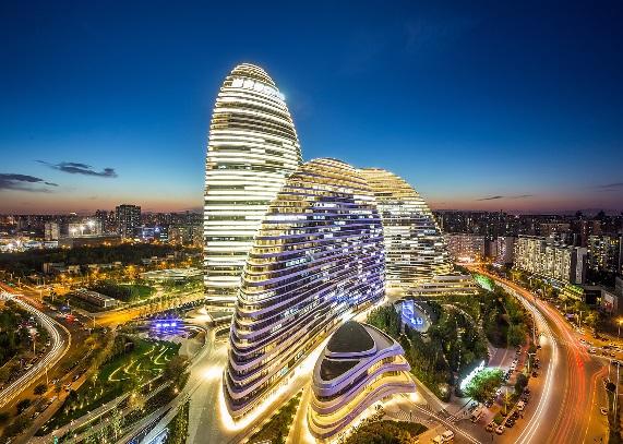 中国已建和计划建造的创意建筑