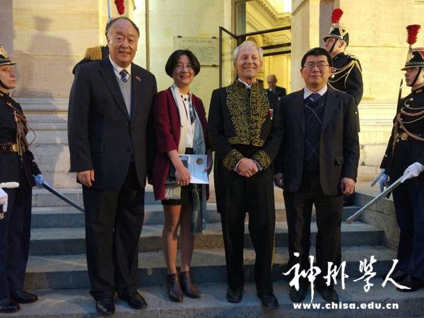 麻小南教授、彭玲教授分获法国科学院2017年度数学、化学奖