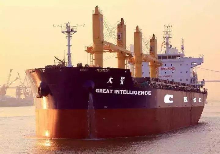 全世界第一艘智能船 Great Intelligeence 正式下水并交付使用