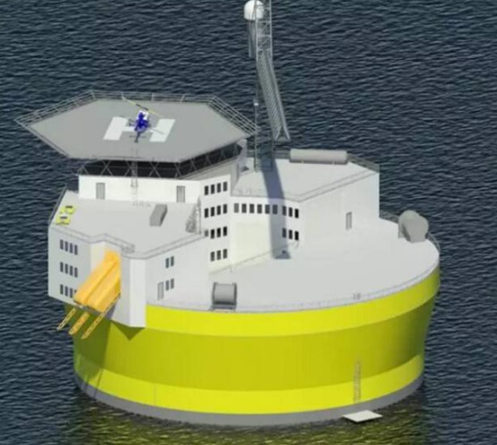 科技宏观战略:中国将建设20座海上核电站