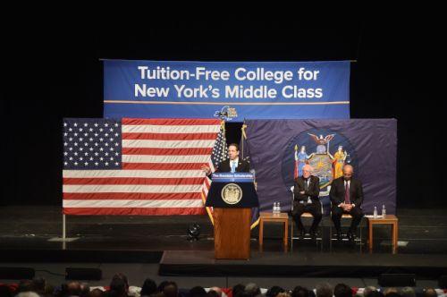 纽约公立大学将实行免学费