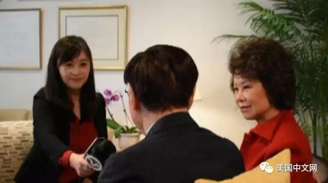 赵小兰在美国交通部五十周年庆典仪式的演讲(全文翻译)