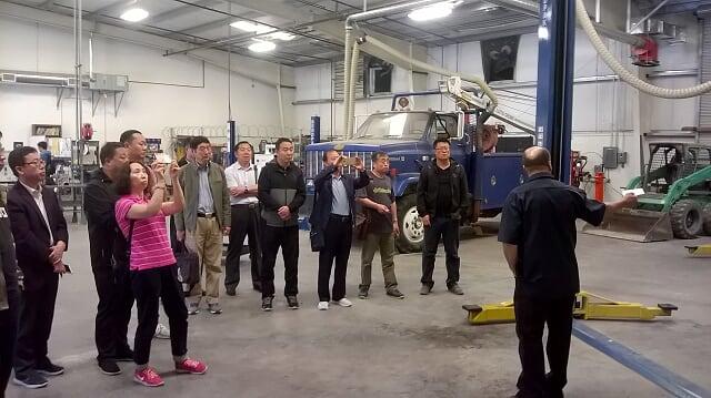 内蒙古高等职业技术教育代表团赴南加州大漠高原High Desert调研考察CTE