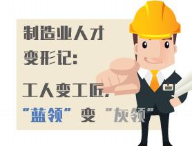 """中国制造业人才变形记或许已经开始:工人变工匠,""""蓝领""""变""""灰领"""""""