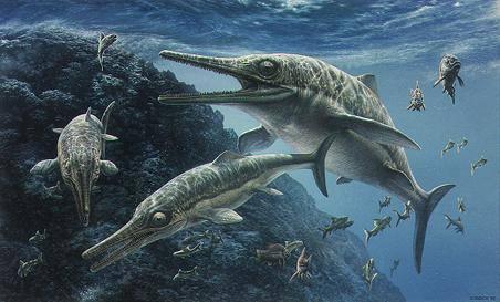 """探秘古海洋霸主 - 鱼龙的黑暗统治 & 全新恐龙物种 -""""中华贝贝龙"""""""