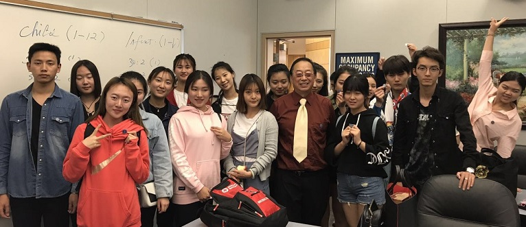中国空乘专业人员实训班赴Barstow参加CPR/AED/First Aid一日营
