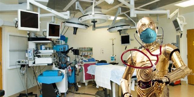 """美国犹他大学设计出可开颅""""机器人医生"""" 手速比人类医生快50倍"""
