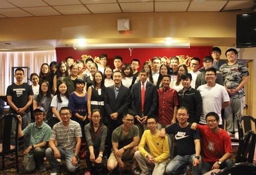 """第16届""""汉语桥""""世界大学生中文比赛美西南赛区预赛在亚利桑那图森市举行"""