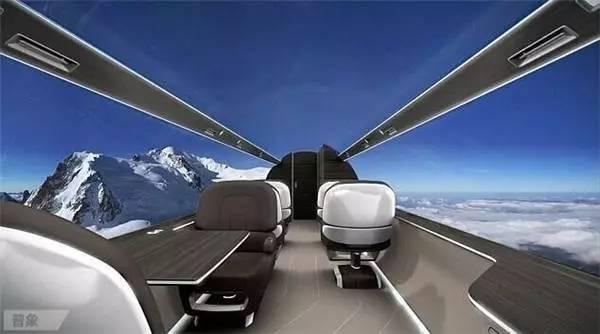 """享受360度全外景 英国研发全球首架""""全透明飞机"""""""