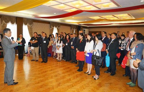 江苏加州国际教育发展中心开幕典礼在帕萨迪纳市举行