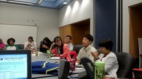 Barstow国际学生联合会接待东北大学、北京交通大学和北京化工大学调研团