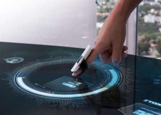 MUVinteractive开发BIRD可穿戴指环: 能将任何表面变成触控屏幕