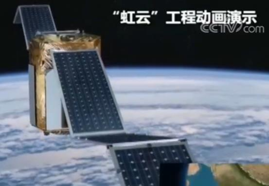 """中国研发时速4000km的""""高速飞行列车 & 打造有156颗小卫星的天基互联网"""