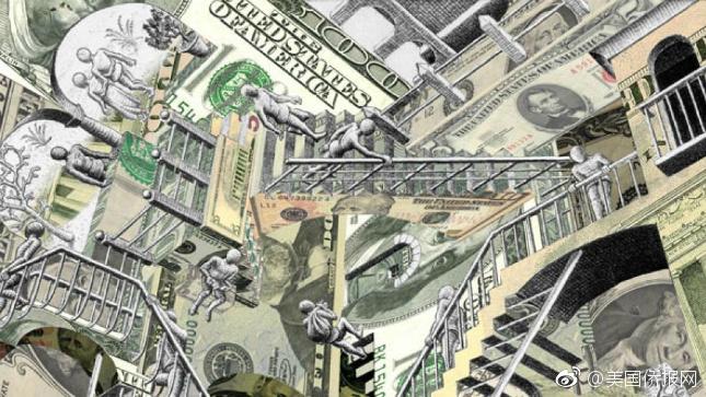 美国经济分析局(BEA):100美元在50个州相对全国平均水平的实际价值