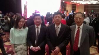 中国驻洛杉矶总领馆举行国庆68周年招待会