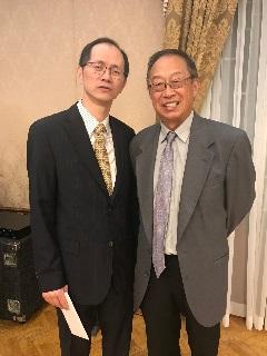 中国驻洛总领馆举行欢送孙鲁山副总领事暨欢迎施远强副总领事招待会