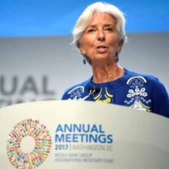 国际货币基金组织(IMF)总干事拉加德:中国金融各领域监管的侧重点不同