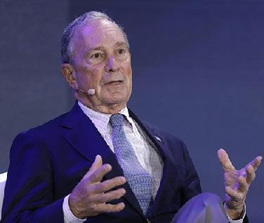 前纽约市长迈克尔・布隆伯格向母校约翰・霍普金斯大学捐赠18亿美元