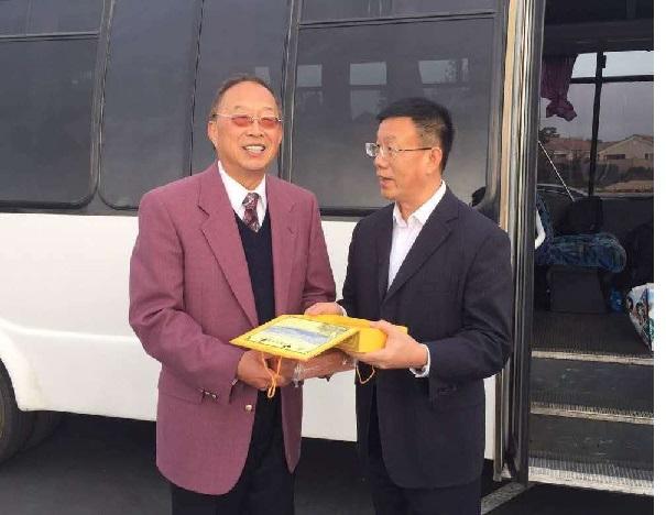 美国华裔教授专家网接待山东省民政厅考察团