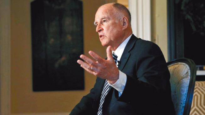 ��在1月7日新加州州�L上任之前:�Ρ炔祭屎图~森