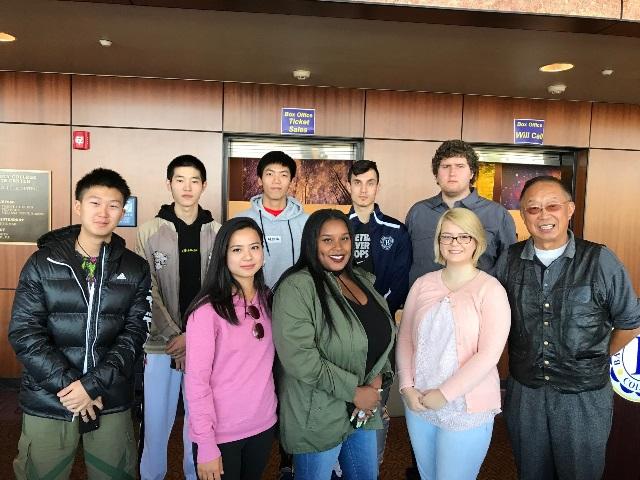 南加州巴斯度国际留学生联合会举行第五届理事会就职仪式