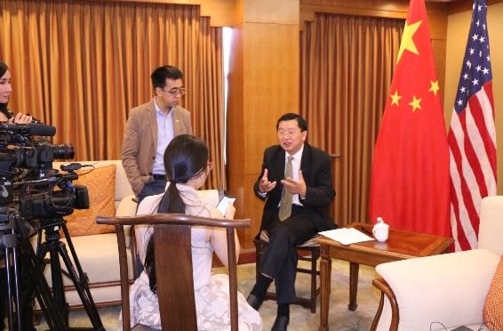 中国驻洛杉矶总领馆专题介绍领事保护与协助工作