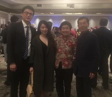 中国驻洛杉矶总领馆张平总领事举办招待会与领区各界欢度新春佳节