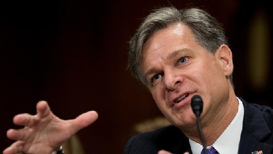 """美国联邦调查局长的拜年:中国""""学术间谍""""动摇美国领导地位"""