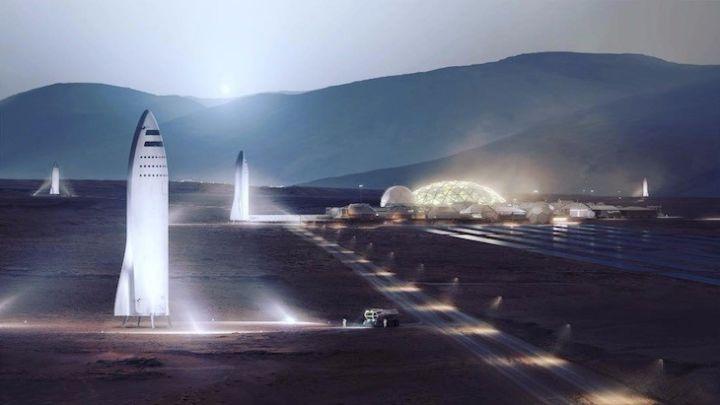 SpaceX:Falcon Heavy -人类迎来零时差时代!