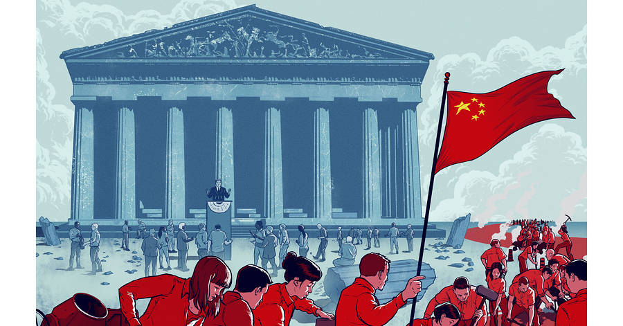 英国剑桥大学政治学教授戴维・朗西曼:中国如何挑战西式民主?